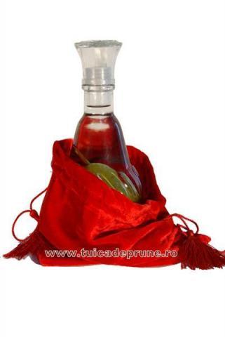Carafa Para In Saculet Rosu