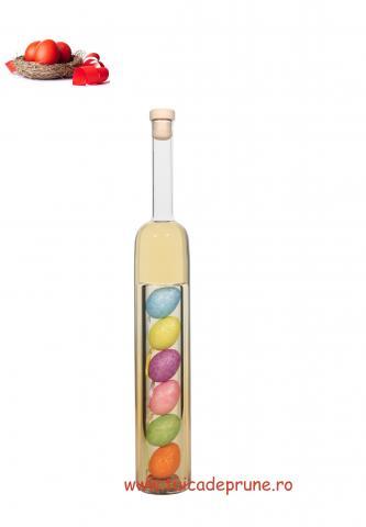 Sticla cilindrica cu oua Paste 500 ml