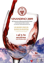CONCURSUL INTERNATIONAL DE VINURI SI SPIRTOASE VINANDINO 2009 - ARGENTINA