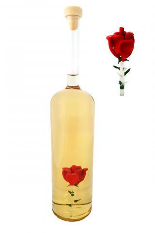 Cilindru cu trandafir 500 ml rachiu fructe