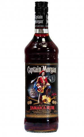 Rom Captain Morgan Black Label 0.7l