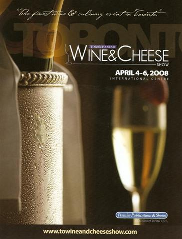 Wine and Chese Show in Toronto 2008