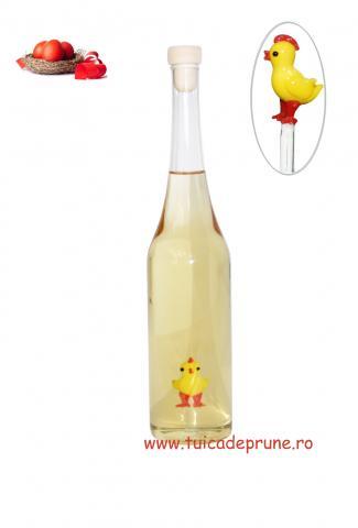Sticla miniatura cu pui, 200 ml